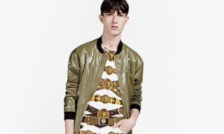 Versus Versace Spring/Summer 2014 Lookbook
