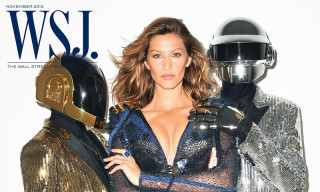 Gisele Bündchen and Daft Punk Cover The WSJ Magazine November 2013 Issue