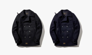 "WTAPS ""BLACKWATCH"" Pea Coat"