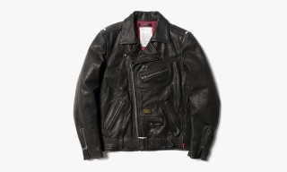 WTAPS Fall/Winter 2013 Rider Jk Leather Jacket
