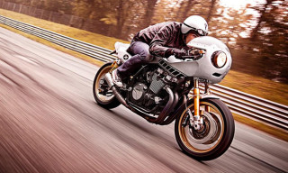 """Yamaha XJR1300 """"Eau Rouge"""" by Deus Ex Machina Italy"""