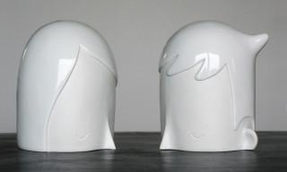 "K.Olin tribu x Yoskay Yamamoto ""u + i"" Porcelain Sculpture"