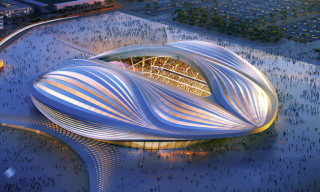 Zaha Hadid Unveils Design for Qatar 2022 World Cup Stadium