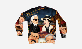 Highsnobiety presents 10 Illustrated Christmas Sweaters