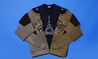 KENZO Christmas Edition Embroidered Sweatshirts