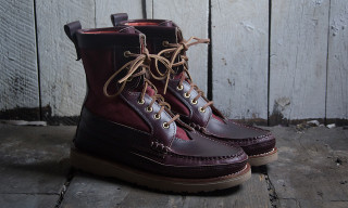 Off The Hook x New England Outerwear Ox Blood Harvester Boot