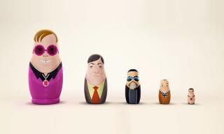 UK Creative Agency Creates Gay Matryoshka Dolls for Russia