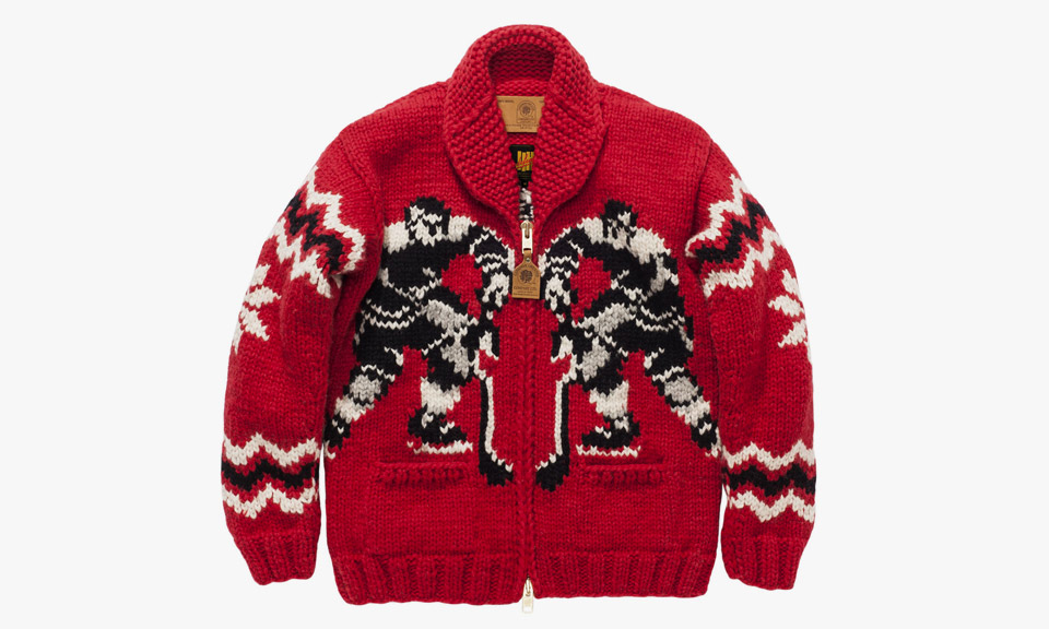 Undefeated X Canadian Sweater Co Quot Penalty Quot Sweater