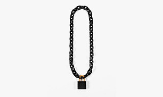 Alexander Wang Blackened Steel Chain Bike Lock