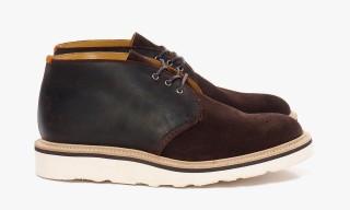 CASH CA x Tricker's Multi Tone Chukka Boots