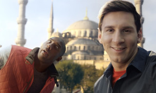 "Kobe Bryant and Lionel Messi star in ""The Selfie Shootout"""