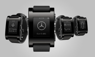 Mercedes-Benz Announces Strategic Partnership with Pebble