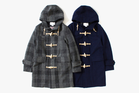 nanamica Harris Tweed Duffle Coat | Highsnobiety
