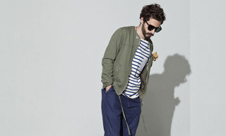 "nonnative Spring/Summer 2014 ""Subcity Dweller"" Lookbook"