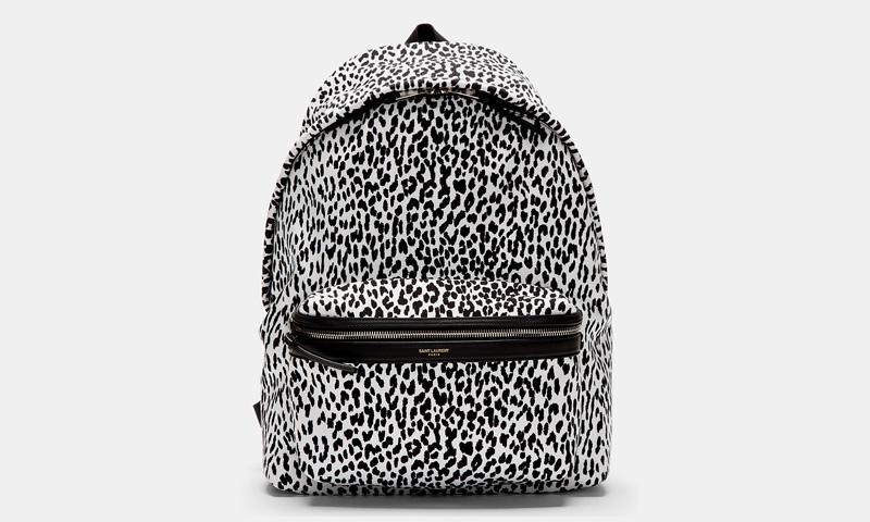 saint laurent leopard print backpack highsnobiety