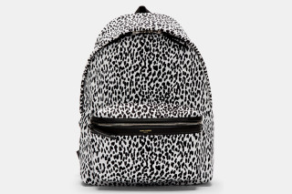 ysl beige patent clutch - Saint Laurent Leopard Print Backpack | Highsnobiety