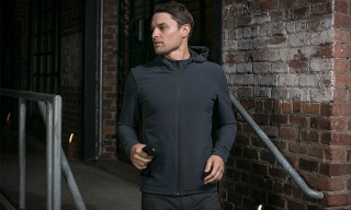 "Mission Workshop ""Zurich"" Softshell Merino Hoodie"