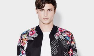 3.1 Phillip Lim Spring 2014 Embroidered Harrington Jacket