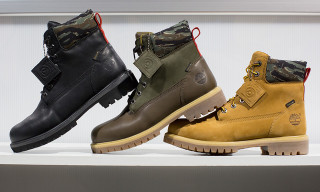 AGENDA Long Beach: Black Scale x Timberland 6″ Boots