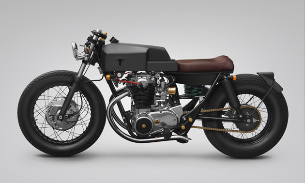 custom yamaha xs  thrive motorcycles highsnobiety