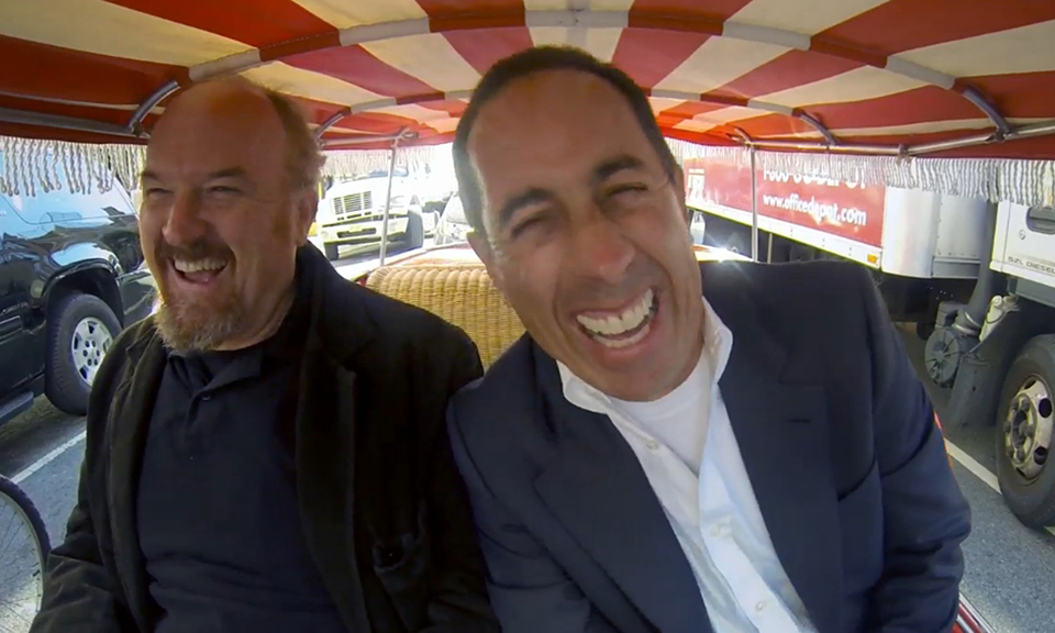 louis ck joins jerry seinfeld on 39 comedians in cars getting coffee 39 highsnobiety. Black Bedroom Furniture Sets. Home Design Ideas