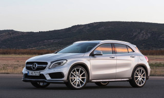 Mercedes-Benz Unveils GLA45 AMG