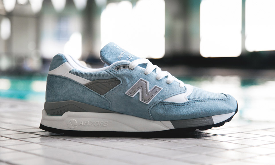 new balance made in usa 998 baby blue highsnobiety. Black Bedroom Furniture Sets. Home Design Ideas