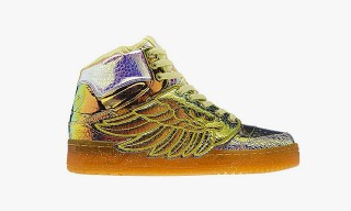 "adidas Originals by Jeremy Scott Wings ""Iridescent Foil"""
