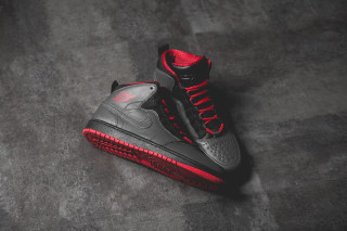 Air Jordan 1 Retro '94 Anthracite / Salle De Gym Rouge-noir-rouge Équipe Interfonctionnelle nc49fQ