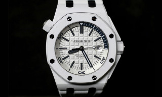 Audemars Piquet Royal Oak Offshore Diver in White Ceramic