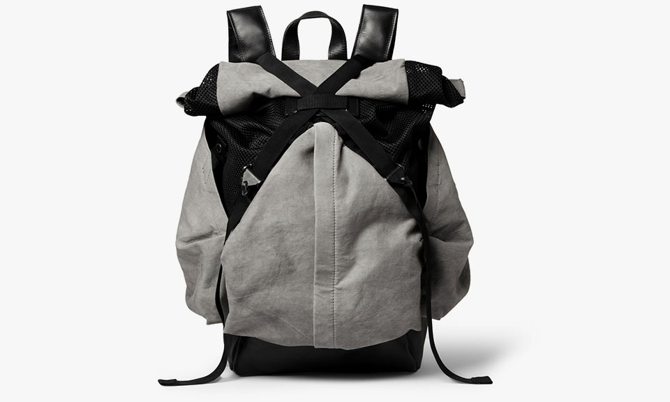 Christopher Raeburn Aruck Leather and Canvas Backpack • Highsnobiety 260303788341b