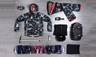"Isaora x Quiksilver Winter 2014 ""RARE EARTH"" Collection"