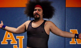 """Watch the NSFW Music Video for Party Supplies' """"Working Out"""" featuring The Fat Jew"""