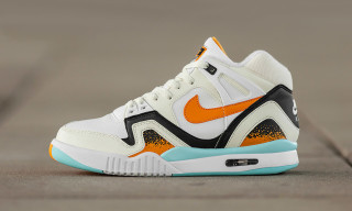 "Nike Air Tech Challenge II ""White/Kumquat/Soft Pearl"""