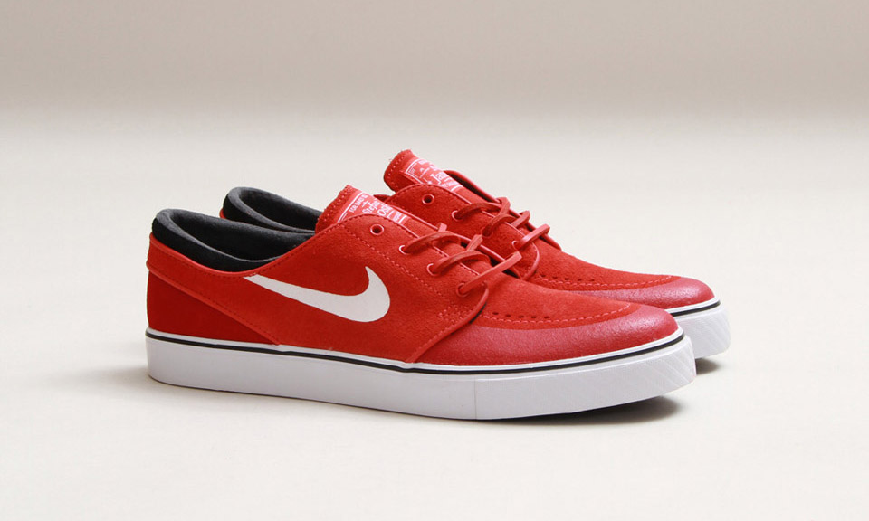 nike sb stefan janoski red and white