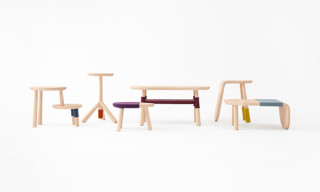 Walt Disney Japan Tables by Nendo Based on 'Winnie the Pooh and Friends'