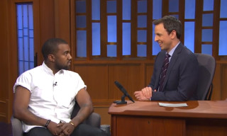 Watch Kanye West on 'Late Night with Seth Meyers'
