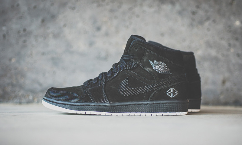 finest selection 6cacd 6fbd2 Air Jordan 1 Mid IP SampS Highsnobiety low-cost
