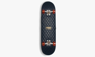Casely Hayford x H by Harris Quilted Leather Skateboards
