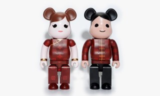 "CLOT x Medicom Toy BE@RBRICK ""Chinese Wedding"""