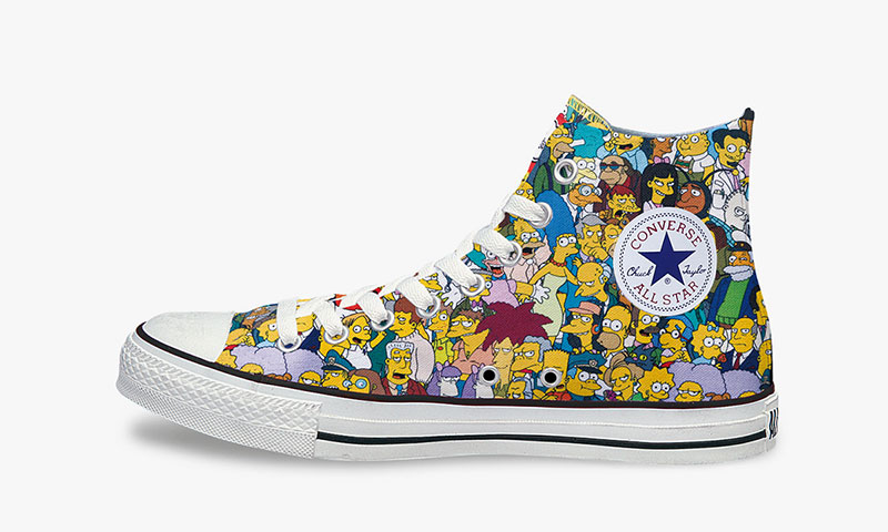 "Converse Japan All Star ""The Simpsons"" L Hi"