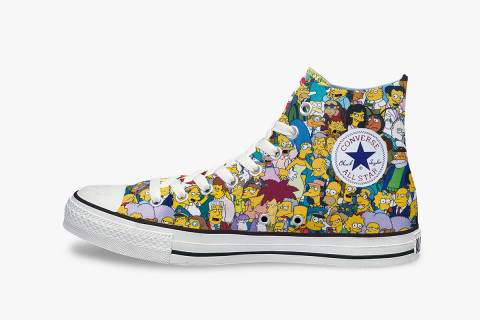 "Converse Japan All Star ""The Simpsons"" L Hi"