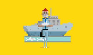 Dusan Cezek Animates Famous Movie Scenes with 8-Bit Pixel GIFs