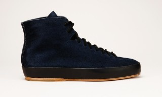 FEIT Hand-Sewn Suede High and Low Top Sneaker