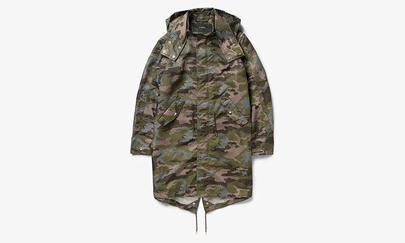 Givenchy Camouflage Fishtail Parka | Highsnobiety