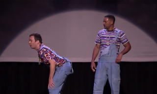 "Jimmy Fallon and Will Smith Perform the ""Evolution of Hip-Hop Dancing"""