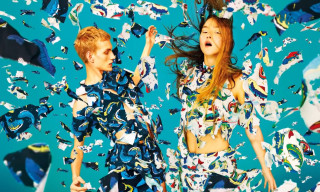 KENZO Spring/Summer 2014 Campaign by 'TOILETPAPER'