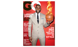 LeBron James Covers the March Issue of 'GQ'