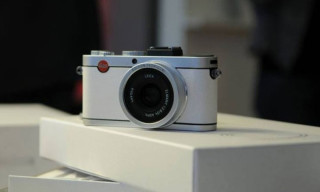 Leica X2 Camera Wrapped in Fedrigoni Paper