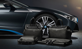 Louis Vuitton Creates Tailor-Made Luggage for the BMW i8